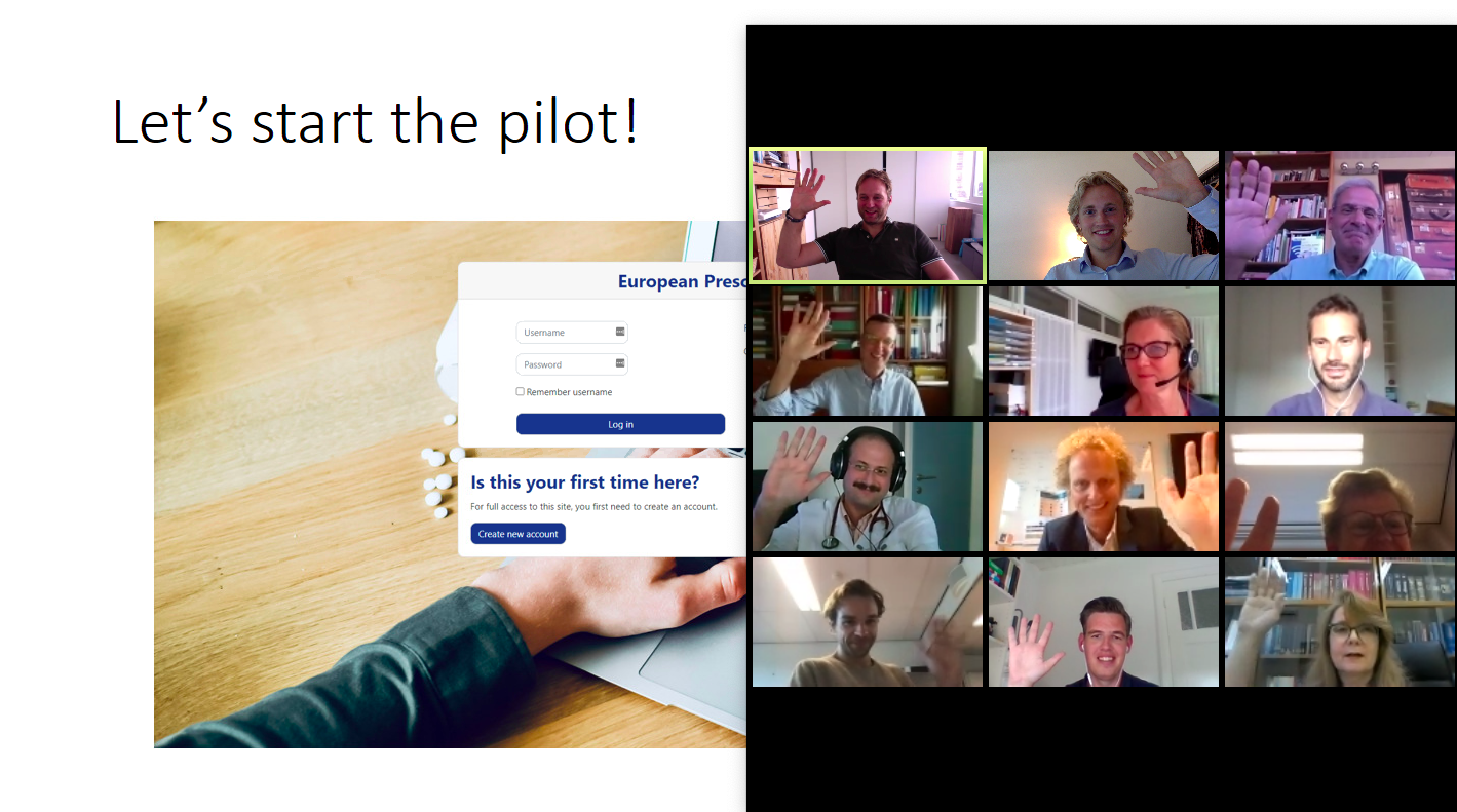 The pilot has been started!